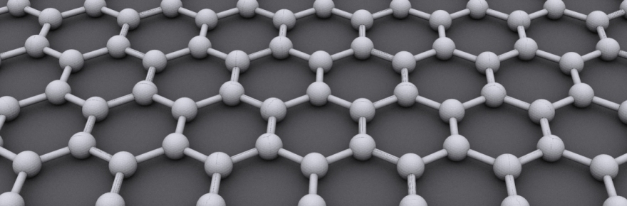 An illustration of the structure of graphene.