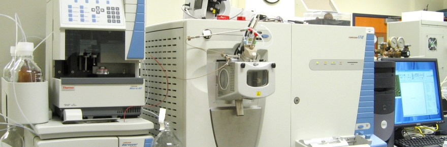 A collection of large diagnostic machines in a lab.